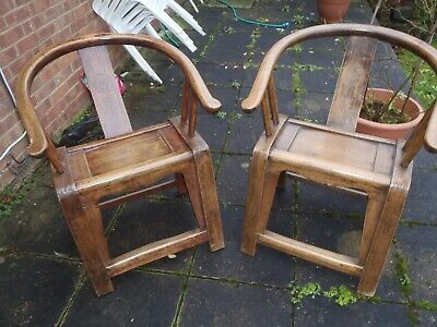 Wooden ?Chinese Chairs • 145£