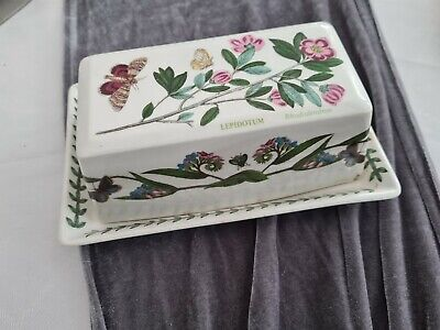 Portmeirion Covered Butter Dish (Damaged) • 0.99£