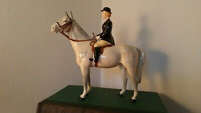 Beswick Lady/Huntswoman On Dapple Grey Horse/Pony In Perfect Condition  • 210£