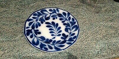 Scottish Pottery Rare Flow Blue Plate • 39.99£
