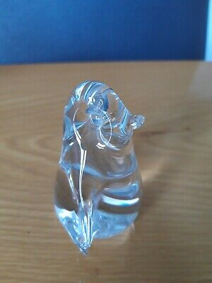 Wedgewood Glass Penguin Bird Paperweight/ Ornament • 14.99£
