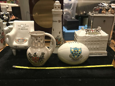 Collection Of Vintage Crested Ware China Job Lot • 9.99£
