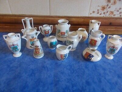 14 Pieces Of Crested Ware China • 8.99£