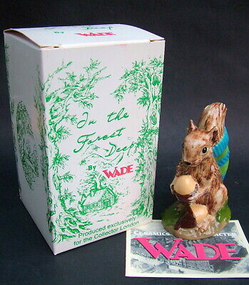Wade Tailwarmer Squirrel Rom The Forest Deep Series New Boxed & With Certificate • 9.95£
