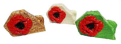 Wade Poppy Whimsies - Set Of 3,  • 45£