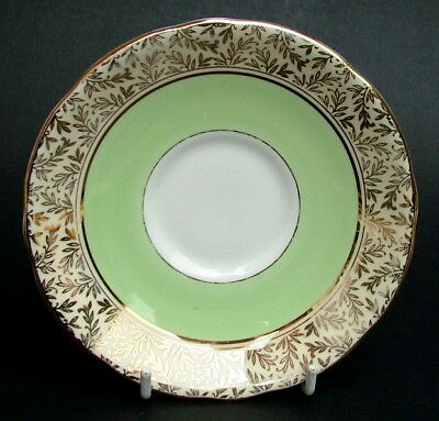 1950's Royal Stafford 8206 Apple Green 180ml Tea Cup Saucers Only - Look In VGC • 2.95£