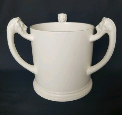 Copeland Spode Pure White Tyg/loving Cup With Lion Handles • 25£