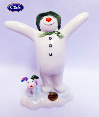 John Beswick Various Snowman Figurines,   Free Wade Whimsie With Each Purchase! • 24.99£
