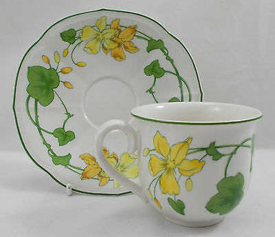 Villeroy & And Boch GERANIUM MALVA Coffee Cup And Saucer • 29.99£