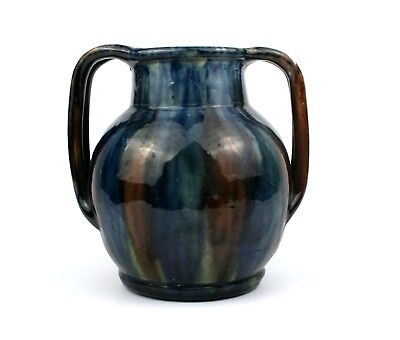 Early 20th C. Vase Twin Handled West Country Pottery  • 39.99£