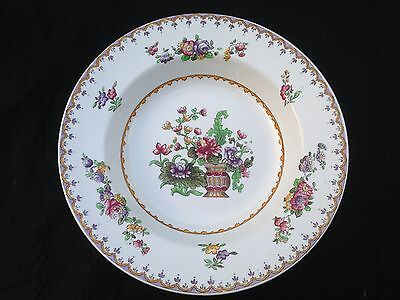 COPELAND Late SPODE Peplow Rimmed Soup Dish Made For Harrods C1910 • 35£