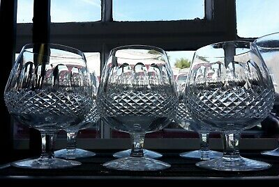 Beautiful Waterford Crystal Cut 'Colleen' Brandy Glass Stunning Optic Lenses  • 29.99£
