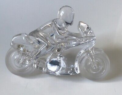 Daum Crystal Motorbike 'Circuit' Designed By Xavier Froissart • 245£
