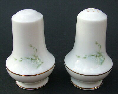 Royal Stafford Blossom Time Pattern Salt &  Pepper Shakers 8cmh - Look In VGC • 7.95£