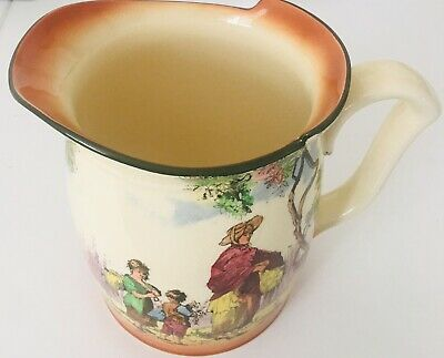 Royal Doulton Jug ~ The Gleaners ~ D4983 ~ Perfect ~ • 34£
