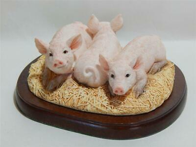 Border Fine Arts Three Little Piggies A27072 • 19.97£