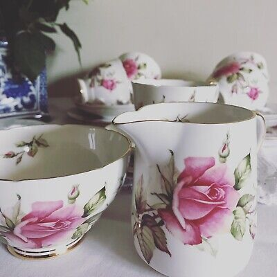 Royal Stafford Bone China  First Love Tea Set - Excellent Condition • 60£