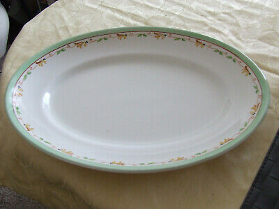 A Very Large And Deep Vintage Serving Platter By A.J. Wilkinson Good Condition • 12£