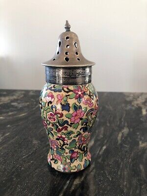Antique Crown Ducal Shaker Silver Plated Top • 17.99£