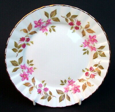 Royal Stafford Fragrance Pattern Side Or Bread Size Plates 16.5cm - Look In VGC • 3.95£