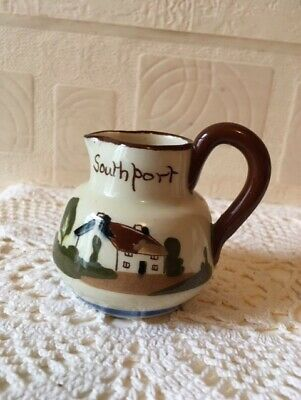Vintage St Marychurch Pottery Cream Jug Southport 1960s • 9.75£