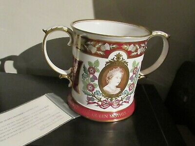 SPODE  Ltd. Ed. Large Loving Cup Queen Mother, 80th Birthday • 40£