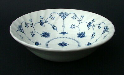 Churchill Blue Finlandia Pattern Soup, Cereal Dessert Or Bowls 16cmw Look In VGC • 4.95£
