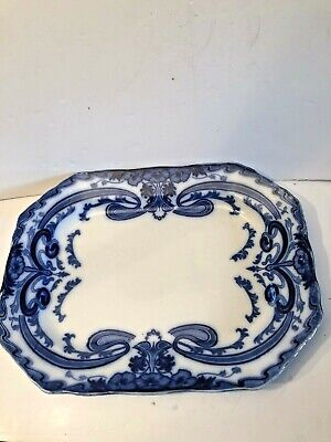 Antique Burgess And Leigh Art Nouveau Large Meat Plate Platter 20 Inches • 47£