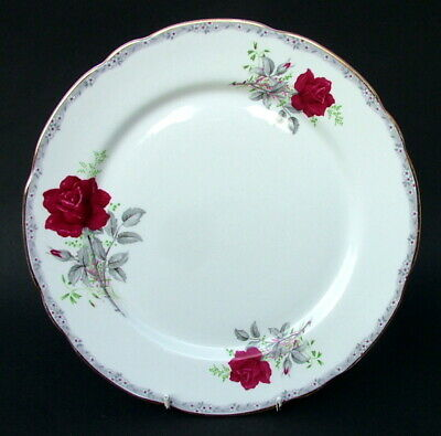 Royal Stafford Roses To Remember Red Pattern Lg Dinner Plates 28cm / 11  In VGC • 9.95£