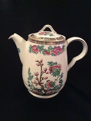 Vintage 1930's John Maddock 'Indian Tree' Tall Tea Coffee Pot. • 15£