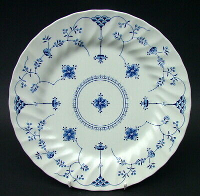 1980's Myott Staffordshire Finlandia Blue Dinner Plates 25.5cm In Used Condition • 5.95£