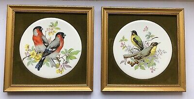 2 X Small Vintage Pictures. Genuine Staffordshire Ceramics By Harleigh China Co. • 9.99£