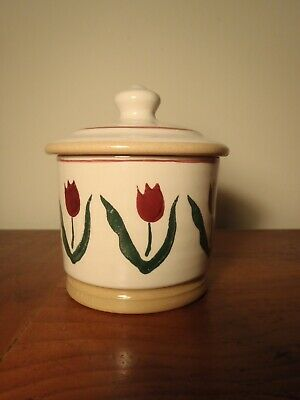 Nicholas Mosse Red Tulip Pottery Set (4 Pieces) Bowls And Jug • 65£
