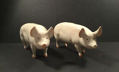 Beswick CH WALL QUEEN 40 & WALL BOY 53 - PIGS  • 35£