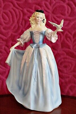 Franklin Mint Porcelain Figurine 'Princess Of The Ice Palace • 40£