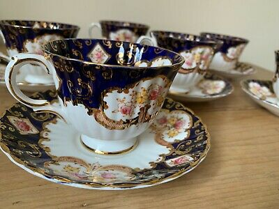 Royal Stafford 7 X Cups And 6 X Saucers  Heritage  Design • 45£