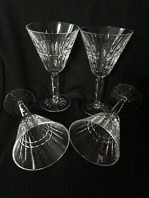 Waterford Crystal Martini Glasses Set Of 4 Beautiful Condition • 40£