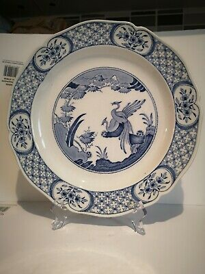 Furnivals 1915 - Old Chelsea  Blue Plate 10.5 Inch • 15.60£