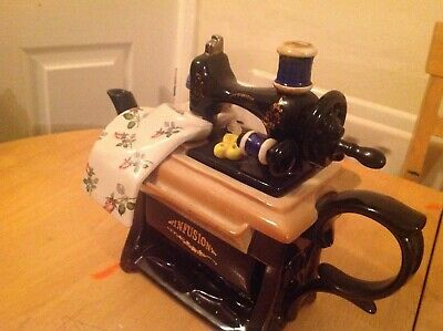 Paul Cardew Infusion Sewing Machine Teapot WAS £90 • 75£