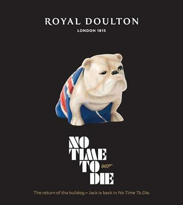 Royal Doulton Jack The Bulldog 007 James Bond No Time To Die 2020 - IN STOCK  • 63.95£