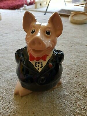 Natwest Pigs Wade Sir Nathaniel Westminster Piggy Bank With Original Stopper • 32£
