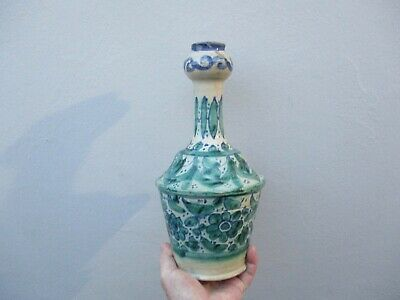 An Antique Hand Painted Middle Eastern Vase 18/19th Century? • 19.99£