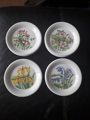 Dunoon Fine Bone China Small Plates Set Of 4 • 5£