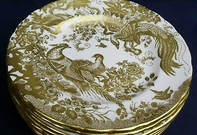 Royal Crown Derby GOLD AVES  A1235 Salad Plate Up To 12 Available  • 62£