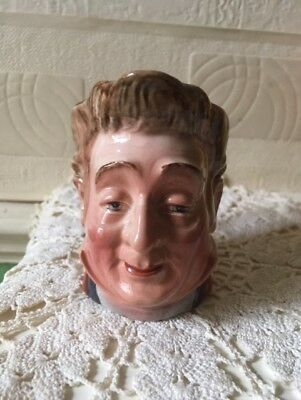 Vintage Beswick Toby Jug Pecksniff Hand Painted English Pottery • 7£