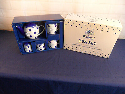 6 Piece Tea Set For 2 By Whittard Of Chelsea ( New Boxed )  • 14.99£