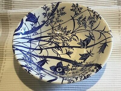 English Ironstone Tableware Blue And White Dish, Excellent • 3£