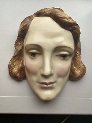 ROYAL DOULTON WALL MASK, MARLENE DIETRICH 1933 Collector's • 170£