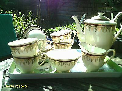 Royal Stadard Fine Bone China Coffee Set 15 Pieces • 19.99£