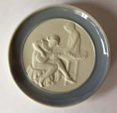 Small Lladro Plate Of Ballerina And Musician Number 17501 • 10£